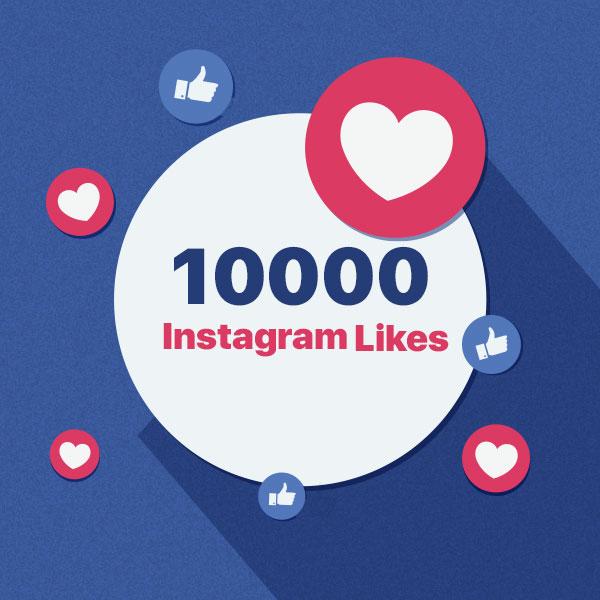 10000 instagram post like