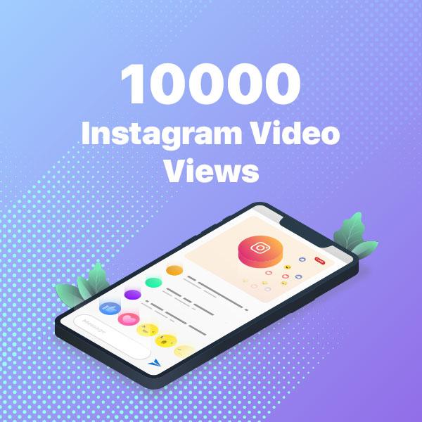 10000 instagram video views