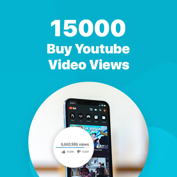 15000 youtube video views