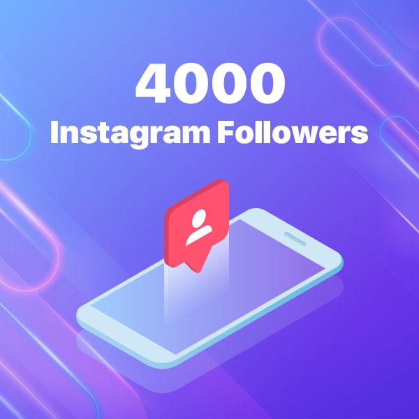 4000 instagram followers
