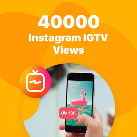40000 instagram igtv views