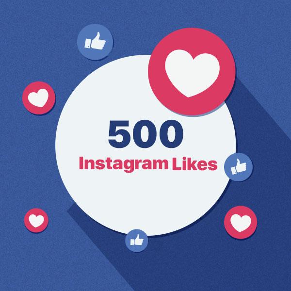 500 instagram post like