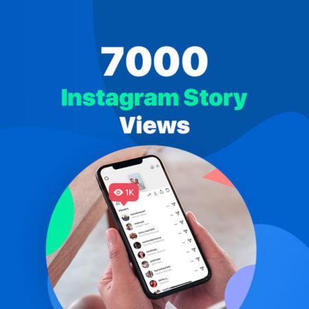 7000 instagram story views