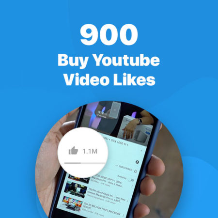 900 youtube video likes