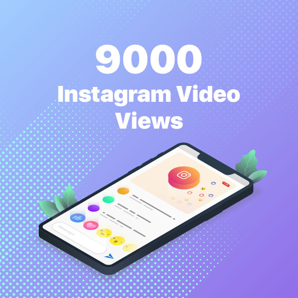 9000 instagram video views