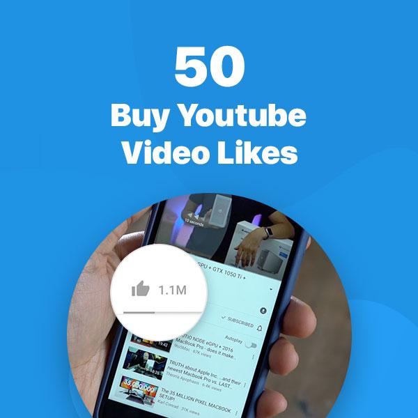 50 youtube video likes